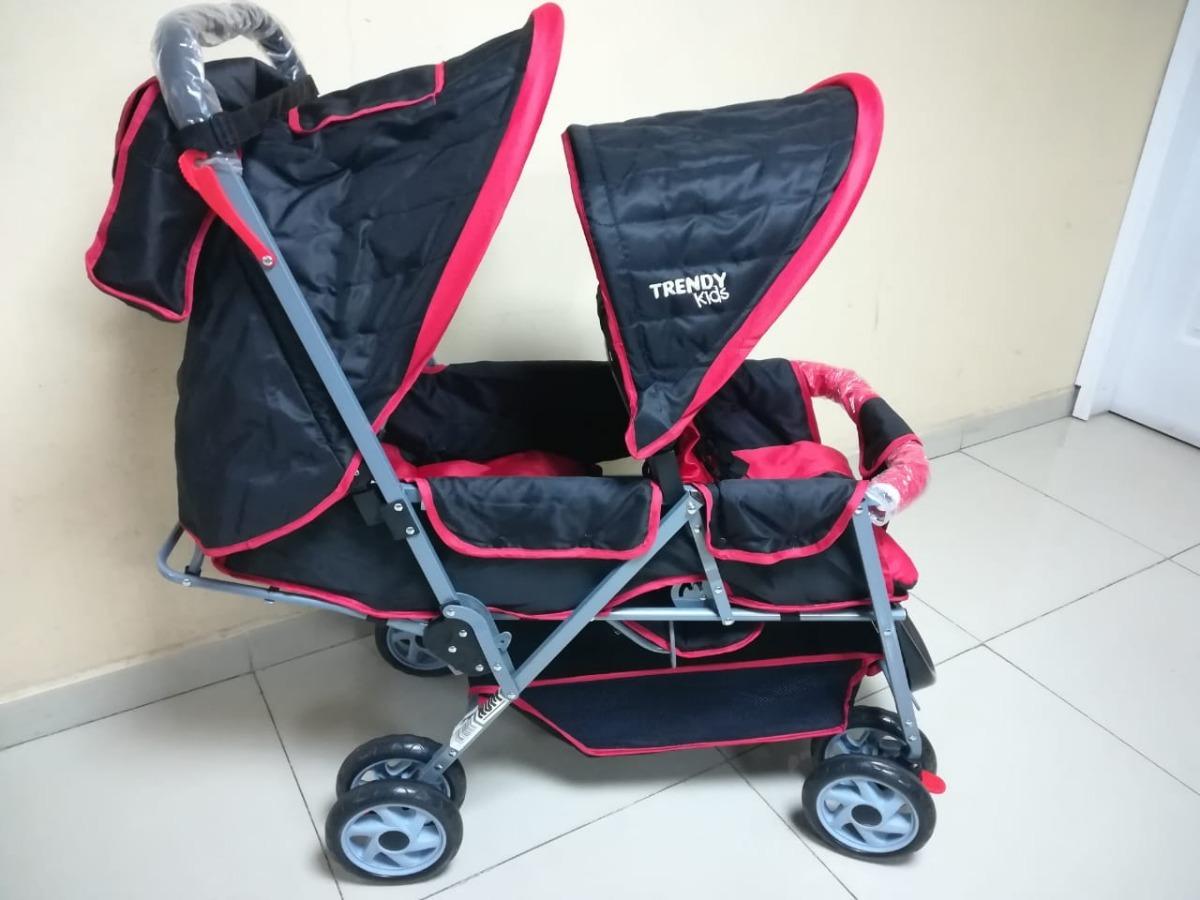 40bdaf83c Carriola Doble Kids Mod Twiny - $ 2,750.00 en Mercado Libre