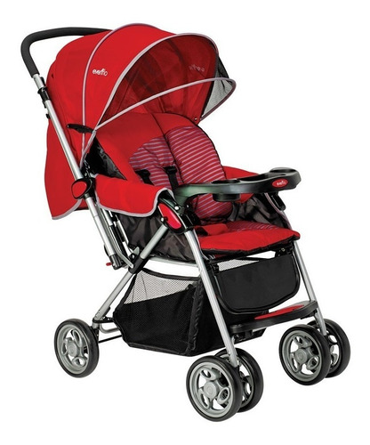 carriola evenflo grand trip mango reversible reclinable