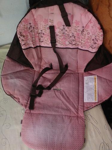 carriola graco rosa/cafe para niña