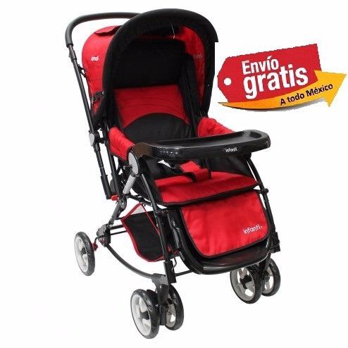 carriola infanti genova original nueva rojo/negro
