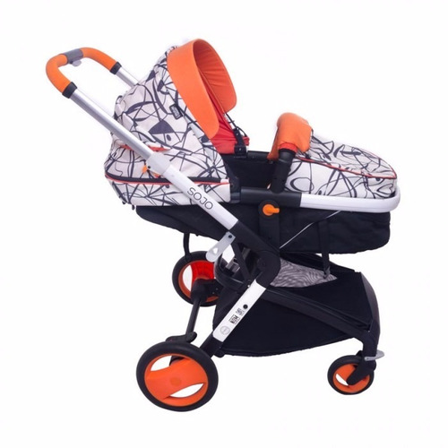 carriola infanti sojo pollock autoasiento - edicion especial