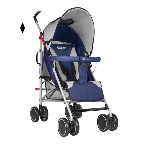 carriola para bebe mod neo baston azul cosco nueva
