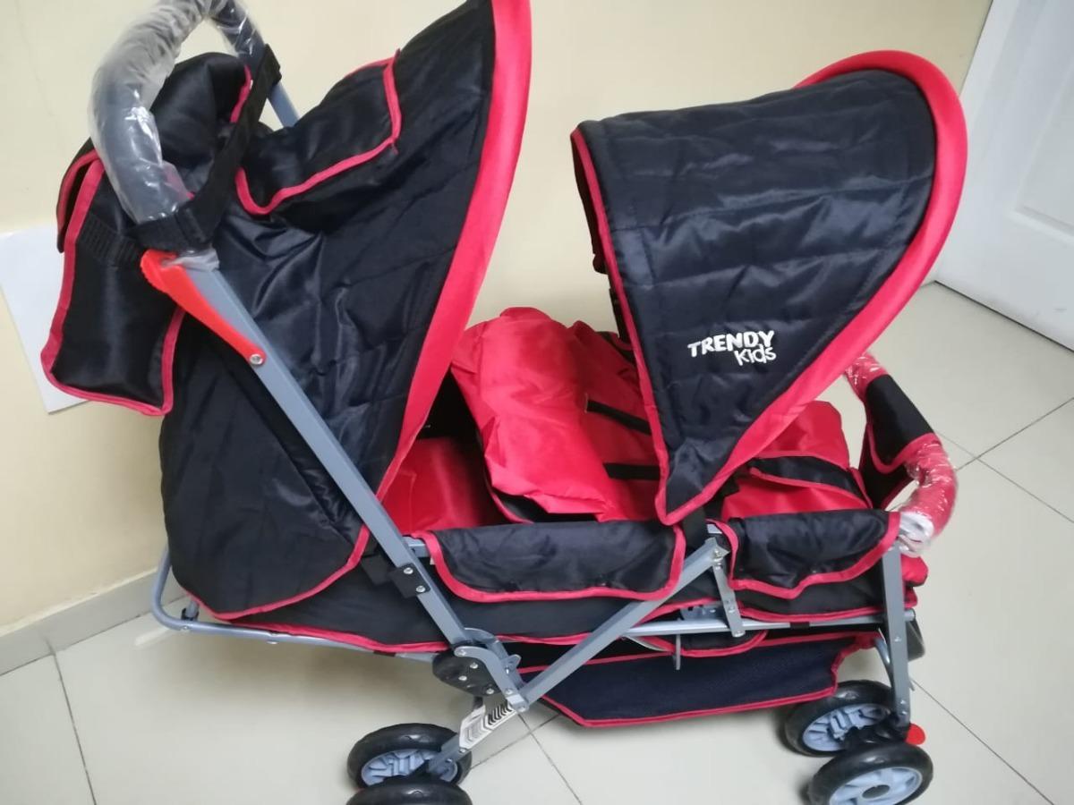 bed275226 Carriola Para Bebes Doble Marca Kids Mod Twiny - $ 2,450.00 en ...