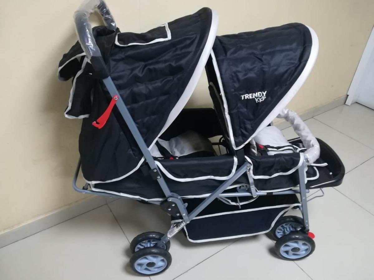 3c9d35778 Carriola Para Dos Bebes Mod Twiny Kids - $ 2,099.00 en Mercado Libre
