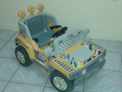 carrito a baterias para niños modelo hummer