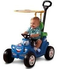 carrito arrastre cozy roadster little tikes dos en uno.