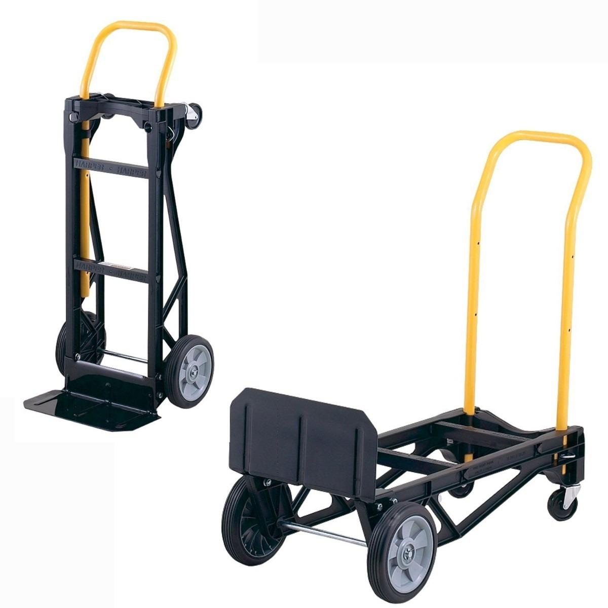 Carrito auxiliar de transporte carretilla diablito hm4 - Carretillas de transporte ...