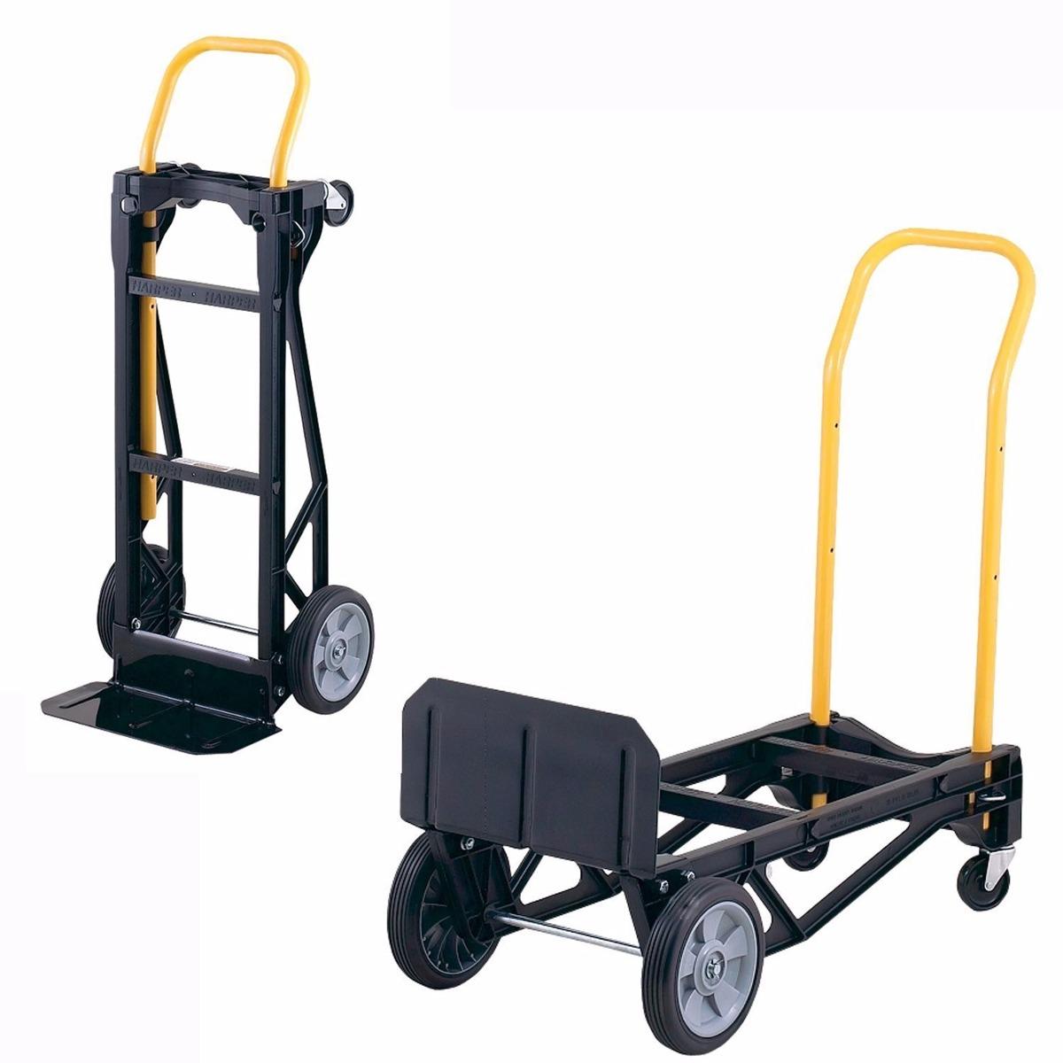 Carrito auxiliar transporte carretilla diablito 400 libras for Carrito auxiliar con ruedas