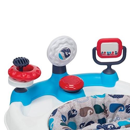 carrito caminador bebé caminar ejercicio actividades azul