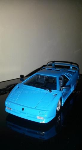 carrito colección lamborgini speed editions 1/24