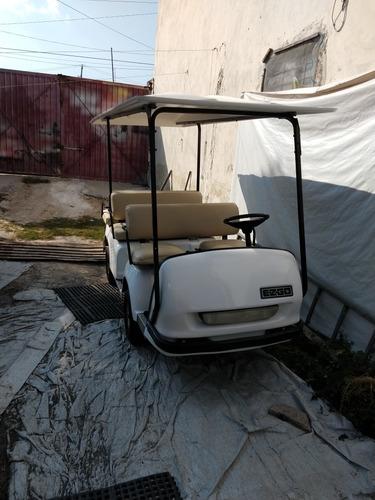 carrito de 6 pasajeros a gasolina ezgo