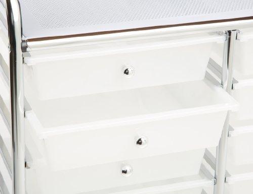 carrito de almacenaje y organizador de laminación honey-can-