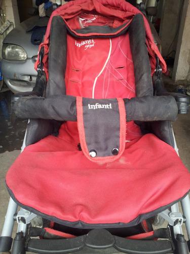 carrito de bebe usados + silla para auto