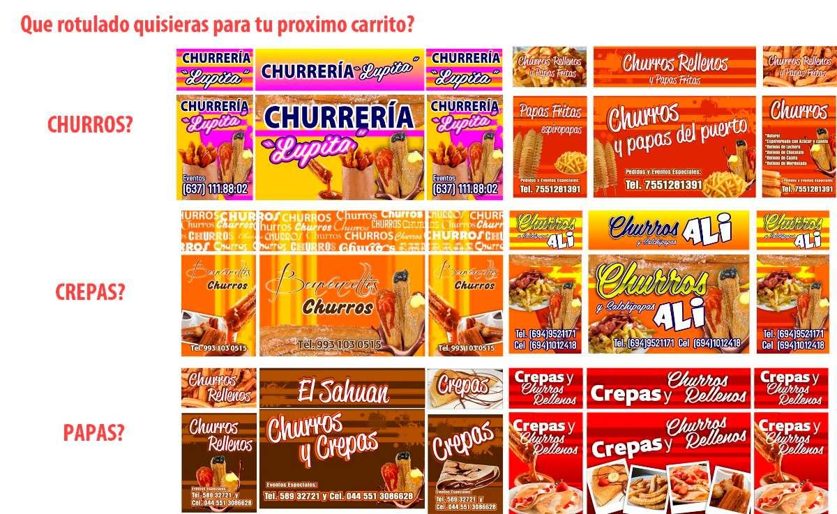 Carrito de churros rellenos y papas fritas 15920 for Carritos y camareras de cocina