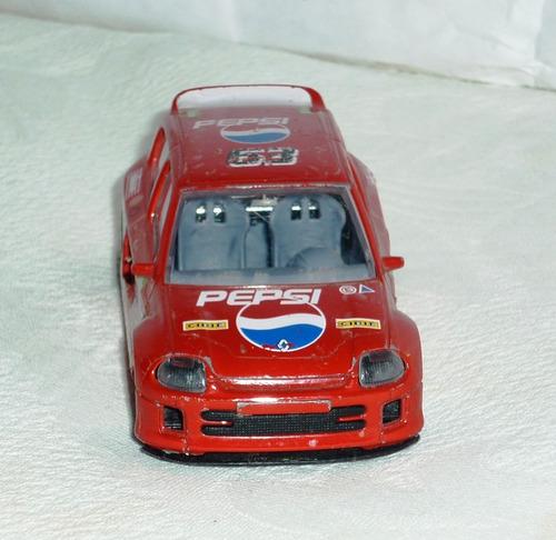 carrito de coleccion renault clio trophy estilo rally