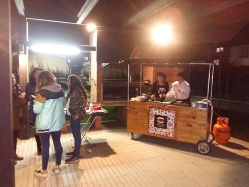 carrito de comida foodtastic para eventos o cumpleaños !!