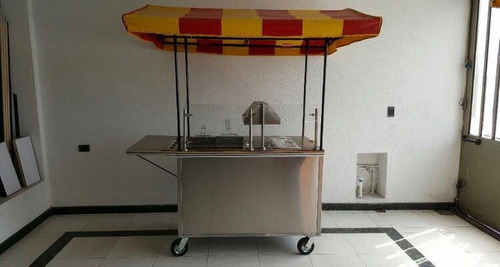 carrito de comidas rapidas