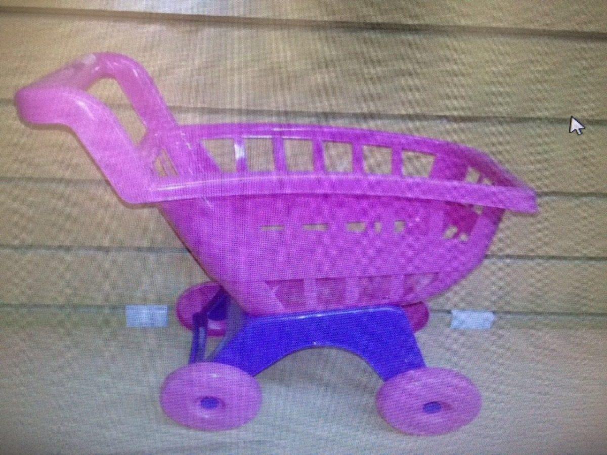 c23274c3729a Carrito De Compras De Plastico Para Muñecas - $ 350,00 en Mercado Libre