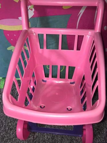 carrito de compras juguete