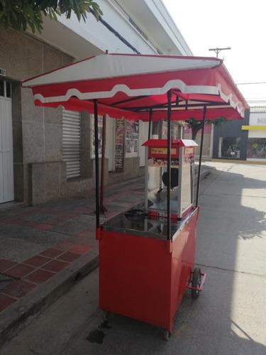 carrito de crispetas usado
