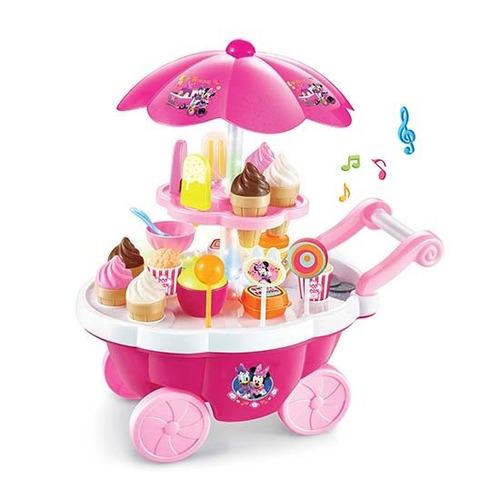 carrito de dulces minnie