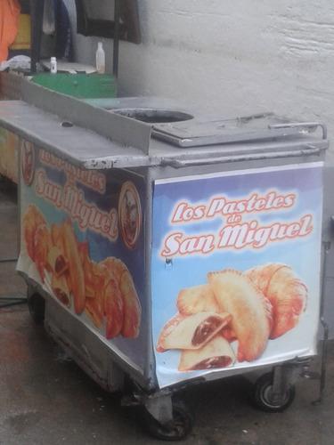 carrito de freír pastelitos