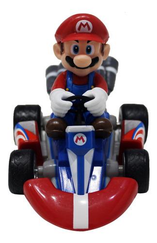 carrito de friccion de super mario bros y mario kart tour