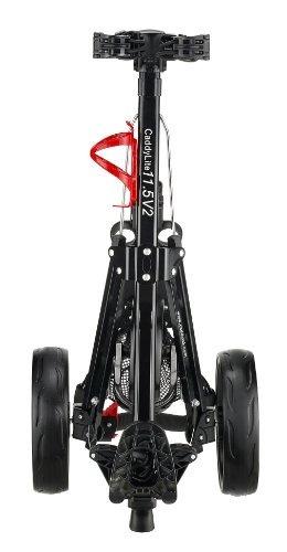 carrito de golf caddytek superlite deluxe golf, negro