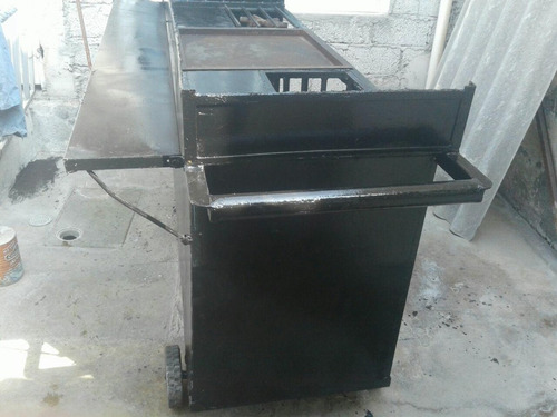 carrito de hamburguesas y hot gogs
