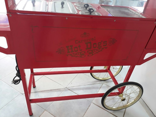 carrito de hot dogs old fashioned marca nostalgia electrics