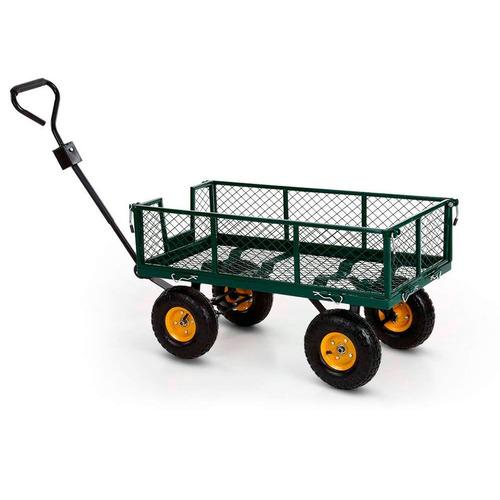 carrito de jardinería