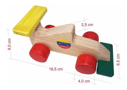 carrito de madera artesanal acabado de primera