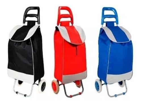 carrito de mandado con bolsa multiusos, soporta 70 kg envio