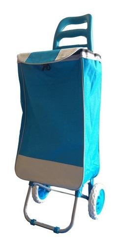 carrito de mandado multiusos con bolsa de manta plegable