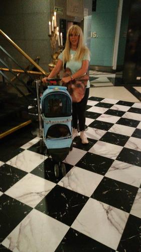 carrito de paseo para mascotas