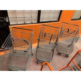 Carrito De Supermercado De 2 Niveles