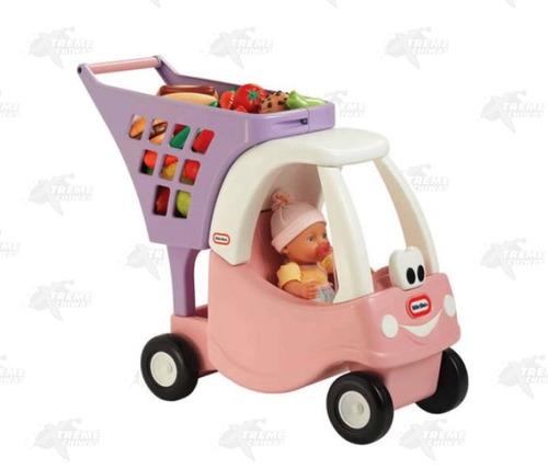 carrito de supermercado little tikes princess xtreme c