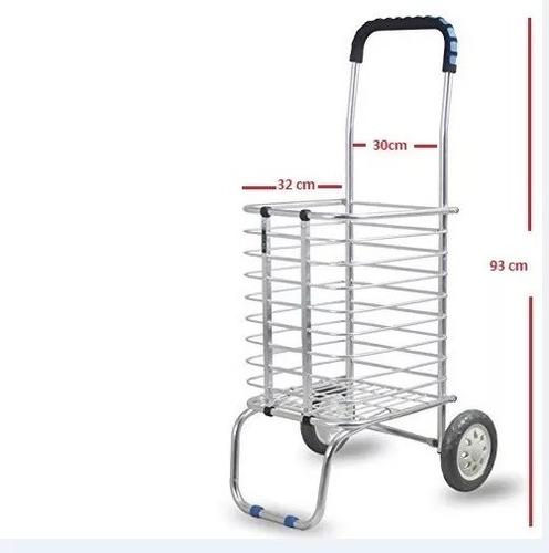 carrito diablito de carga multiusos plegable aluminio 50 kil