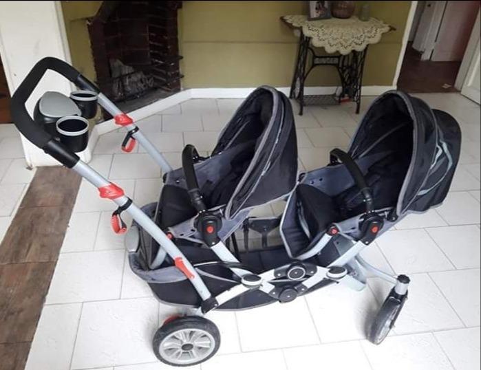 7ad1e8198 Carrito Doble Infanti Dúo Ride Con Fotos Nuevas - $ 8.000,00 en ...