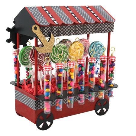 Carrito Dulcero Mesa De Dulces Candy Bar 35 Cm Nq Np Postre