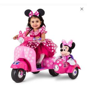 Mouse Con 6 Carrito Electrico Canastilla Ride On Minnie V D2E9IH
