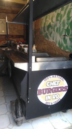 carrito hamburguesa y mas