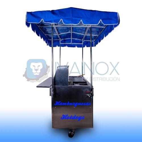 carrito hot dogs hamburguesas carreta puesto carro mod.ch153