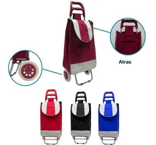 carrito ideal mercado o botellon agua plegable
