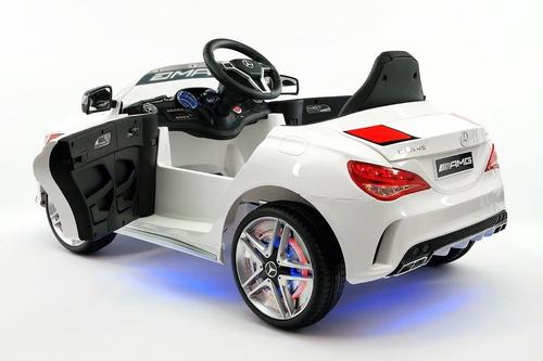 carrito mercedes benz amg cla45 12v control remoto