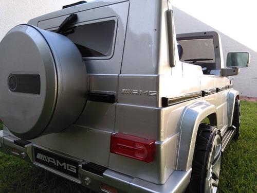 carrito mercedes guadalajara electrico g55 montable