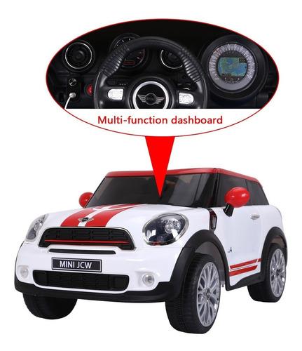 carrito mini paceman bateria motor 12v control remoto