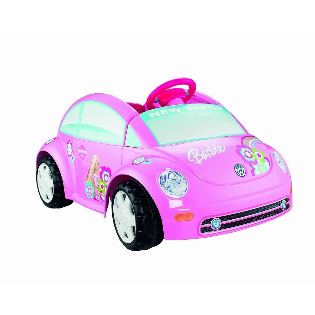 Carrito Montable Juguete Power Barbie Volkswagen Ninas Hm4
