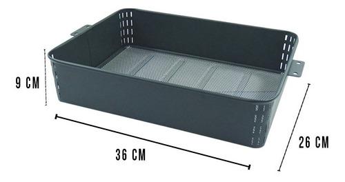 carrito multifuncional 3 niveles or-440161 namaro design