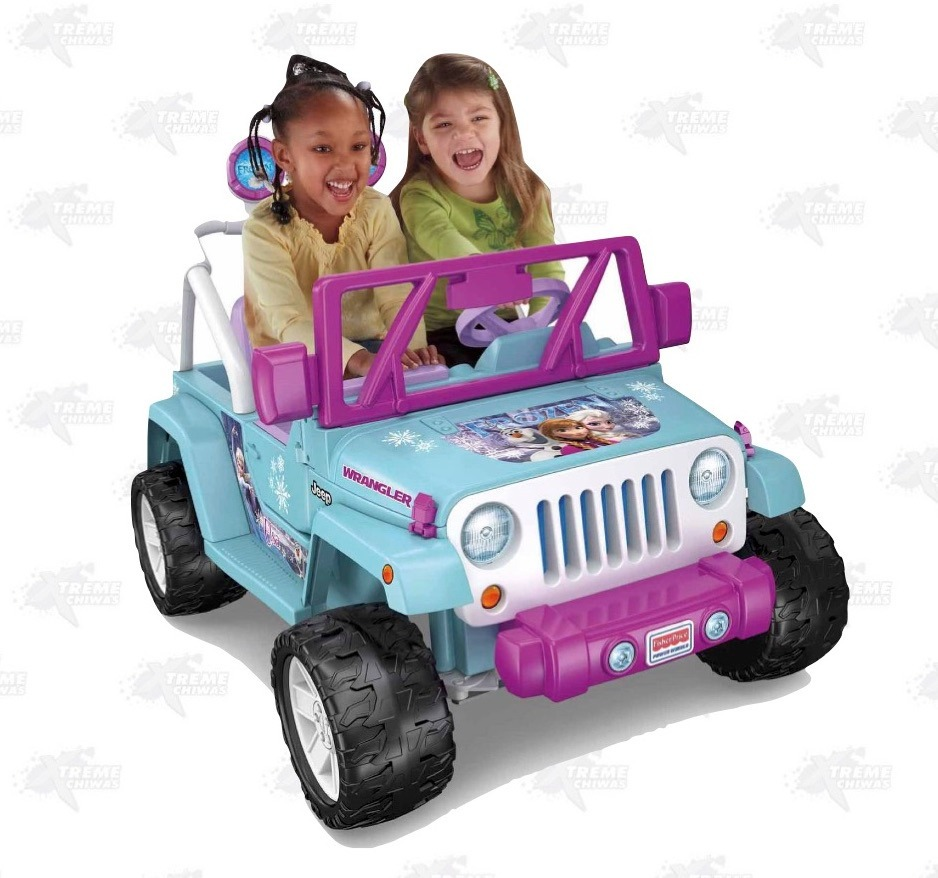 Carrito Nina Electrico Power Wheels Frozen Jeep Xtreme C